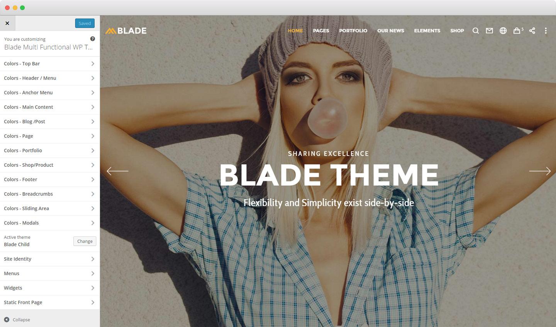 blade-customizer