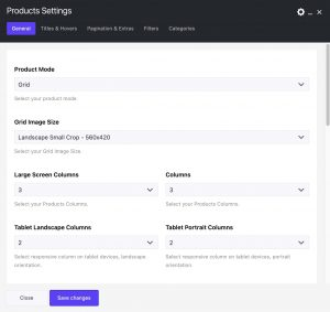 WooCommerce Products Element in Impeka